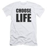 Wham Choose Life S/S Adult 30/1 T-Shirt White
