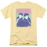 Wham Fantastic Wham S/S Adult 18/1 T-Shirt Banana