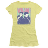 Wham Fantastic Wham S/S Junior Women's T-Shirt Sheer Banana