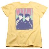 Wham Fantastic Wham S/S Women's T-Shirt Banana