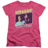 Wham Careless Whisper S/S Women's T-Shirt Hot Pink