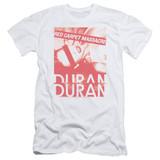 Duran Duran Red Carpet Massacre Adult 30/1 T-Shirt White