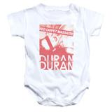 Duran Duran Red Carpet Massacre Baby Onesie T-Shirt White