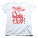 Duran Duran Red Carpet Massacre Women's T-Shirt White