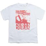 Duran Duran Red Carpet Massacre Youth T-Shirt White