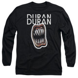 Duran Duran Pressure Off Adult Long Sleeve T-Shirt Black