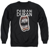 Duran Duran Pressure Off Adult Crewneck Sweatshirt Black