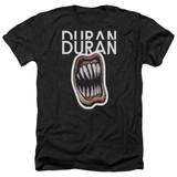 Duran Duran Pressure Off Adult Heather T-Shirt Black