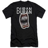 Duran Duran Pressure Off Adult 30/1 T-Shirt Black