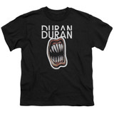Duran Duran Pressure Off Youth T-Shirt Black