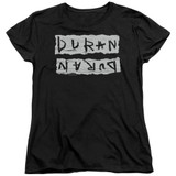 Duran Duran Print Error Women's T-Shirt Black