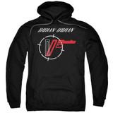 Duran Duran A View Adult Pullover Hoodie Sweatshirt Black
