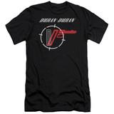 Duran Duran A View Adult 30/1 T-Shirt Black