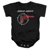 Duran Duran A View Baby Onesie T-Shirt Black