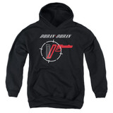 Duran Duran A View Youth Pullover Hoodie Sweatshirt Black