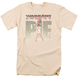 Warrant Cherry Pie S/S Adult 18/1 T-Shirt Cream