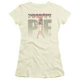 Warrant Cherry Pie S/S Junior Women's T-Shirt Sheer Cream