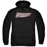 Warrant Warrant Logo Adult Pullover Hoodie Sweatshirt Black