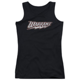 Warrant Warrant Logo Junior Women's Tank Top Black