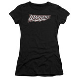 Warrant Warrant Logo Premium S/S Junior Women's T-Shirt Sheer Black