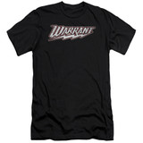 Warrant Warrant Logo S/S Adult 30/1 T-Shirt Black