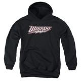 Warrant Warrant Logo Youth Pullover Hoodie Sweatshirt Black