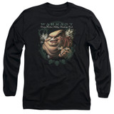 Warrant Stinking Rich Long Sleeve Adult 18/1 T-Shirt Black