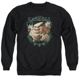 Warrant Stinking Rich Adult Crewneck Sweatshirt Black
