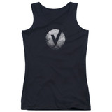 The Vamps V Emblem Junior Women's Tank Top Black