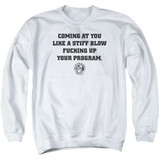 Cypress Hill Still Blow Adult Crewneck Sweatshirt White