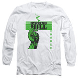 Cypress Hill Inhale Exhale Adult Long Sleeve T-Shirt White