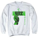 Cypress Hill Inhale Exhale Adult Crewneck Sweatshirt White