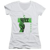 Cypress Hill Inhale Exhale Junior Women's V-Neck T-Shirt White