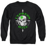 Cypress Hill Skull And Arrows Adult Crewneck Sweatshirt Black
