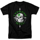 Cypress Hill Skull And Arrows Adult 18/1 T-Shirt Black