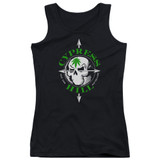 Cypress Hill Skull And Arrows Junior Women's Tank Top T-Shirt Black