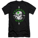 Cypress Hill Skull And Arrows Premium Adult 30/1 T-Shirt Black