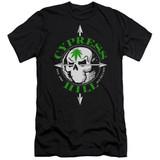 Cypress Hill Skull And Arrows Premium Adult 30/1 T-Shirt Black