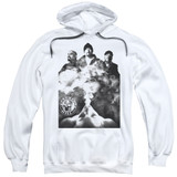 Cypress Hill Monochrome Smoke Adult Pullover Hoodie Sweatshirt White