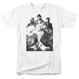 Cypress Hill Monochrome Smoke Adult 18/1 T-Shirt White
