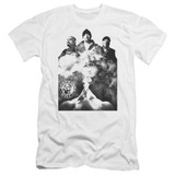 Cypress Hill Monochrome Smoke Premium Adult 30/1 T-Shirt White