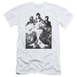 Cypress Hill Monochrome Smoke Adult 30/1 T-Shirt White