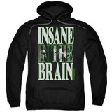 Cypress Hill Insane In The Brain Adult Pullover Hoodie Sweatshirt Black