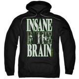 Cypress Hill Insane In The Brain Adult Pullover Hoodie Sweatshirt Black