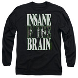 Cypress Hill Insane In The Brain Adult Long Sleeve T-Shirt Black