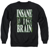 Cypress Hill Insane In The Brain Adult Crewneck Sweatshirt Black