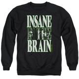 Cypress Hill Insane In The Brain Adult Crewneck Sweatshirt Black