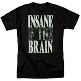Cypress Hill Insane In The Brain Adult 18/1 T-Shirt Black