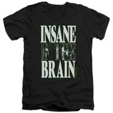 Cypress Hill Insane In The Brain Adult V-Neck T-Shirt Black