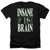 Cypress Hill Insane In The Brain Adult Heather T-Shirt Black